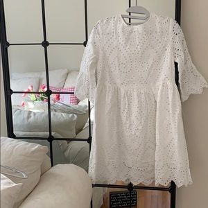 Dresses & Skirts - 100% Cotton Adorable White Dress